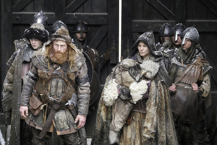 Photo courtesy of NFI.no You may recognize Kristofer Hivju (front left) from HBO's Game of Thrones, a series known for its violent politics. Norway's 110-year-long civil war puts even that to shame. But without the dragons.