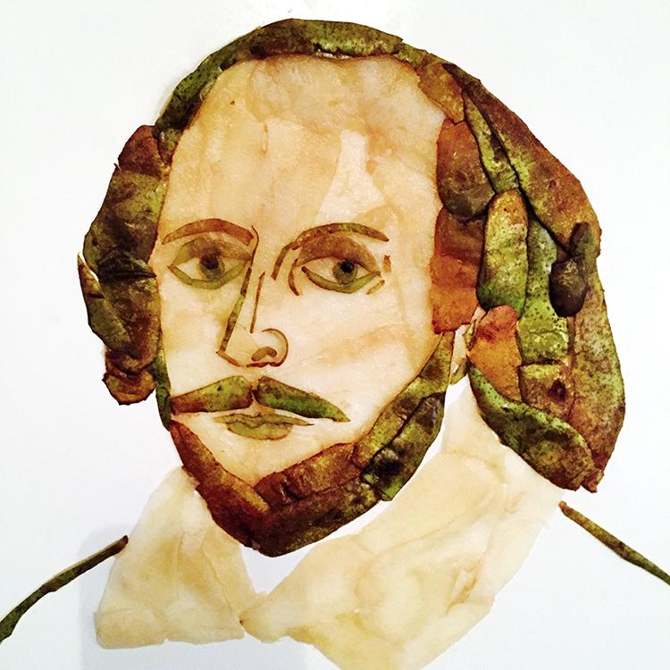 """Photo: Christian """"Ketsjup"""" Kjelstrup William Shakespear."""