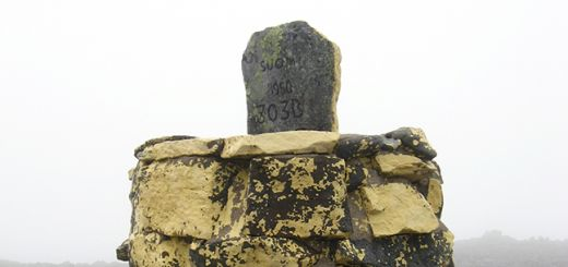 Photo: Ppntori photo / Wikimedia Commons Border marker cairn no. 302B at hightest point in Finland.