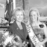 Photos courtesy of the Norwegian Immigration Association The first and the 50th Miss Norway together: Shirley Bensen and Elizabeth Malmstrom. What have the other 59 Miss Norways been up to?