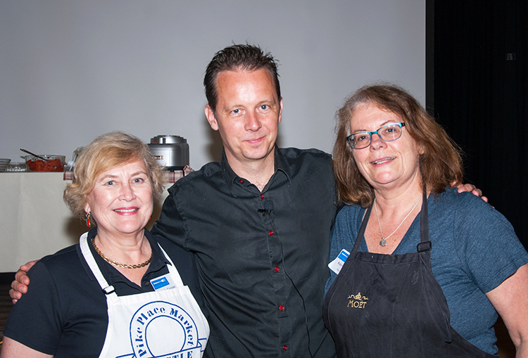 Photo courtesy of the Nordic Heritage Museum Andreas Viestad was one of many top chefs to share knowledge of Nordic cuisine at a conference held at Seattle's Nordic Heritage Museum earlier this year.