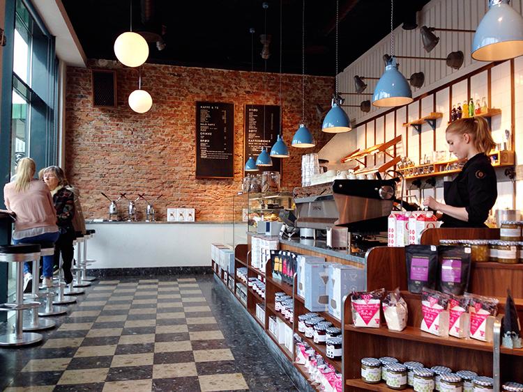 Photo: Dianna Walla Inside Kaffebønna, one of the top coffee shops in Tromsø.