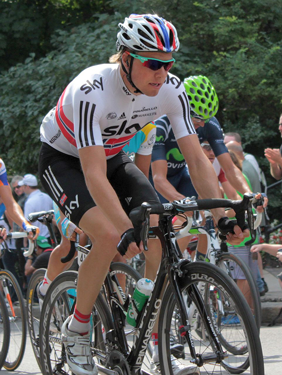 Photo: Roxanne King / Wikimedia Commons Edvald Boasson Hagen in Quebec in 2012.