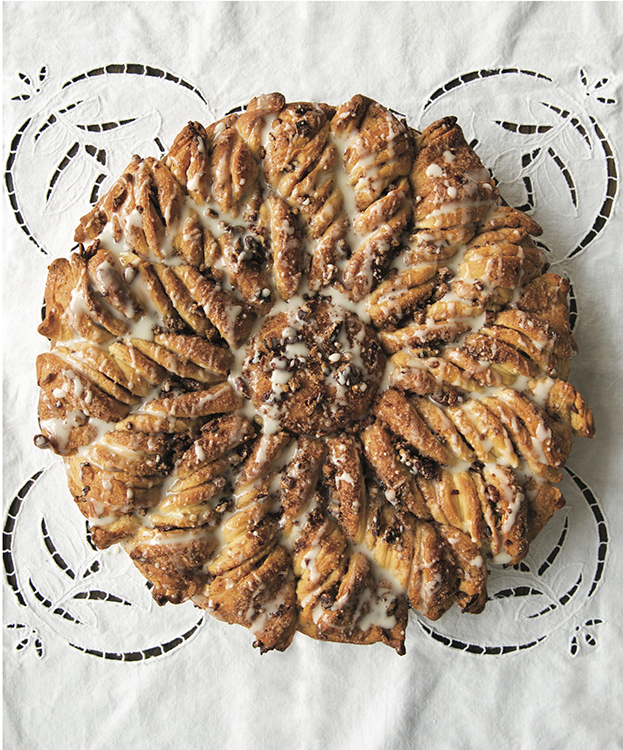 Photo: Charity Burggraa, courtesy of Sasquatch Books These maple pecan rings have been a favorite in Bahen's family for decades.
