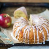 Photo: Kristine Ofstad Apples make this gluten-free cake crisp and moist.