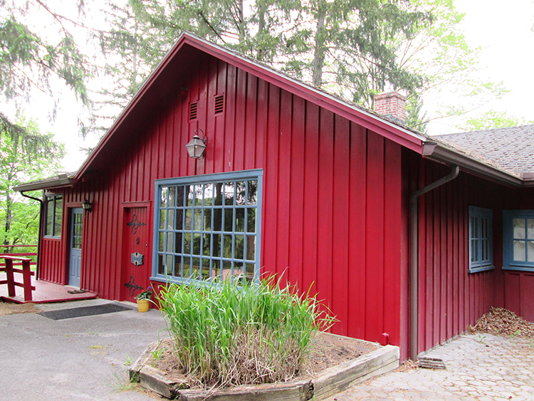 Photo: Christine Foster Meloni Inside this shed is a treasure trove of Norwegian art and artifacts.