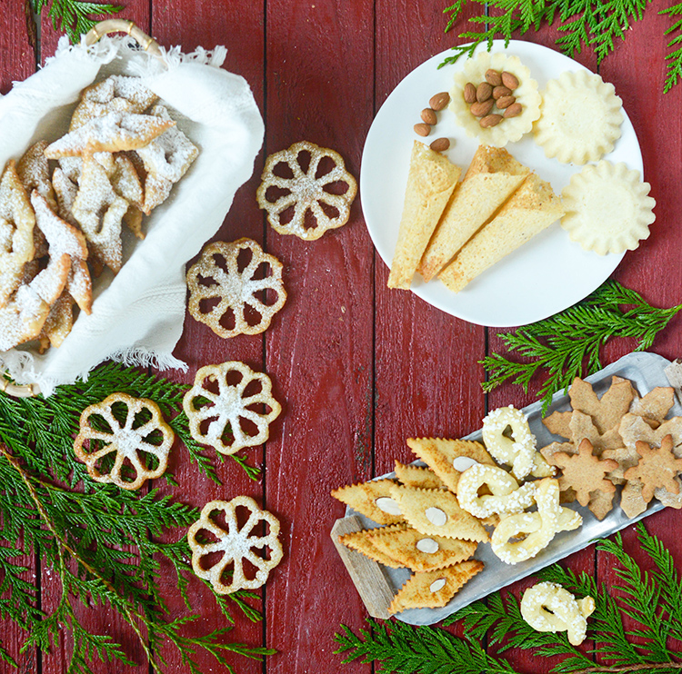 seven cookies for christmas