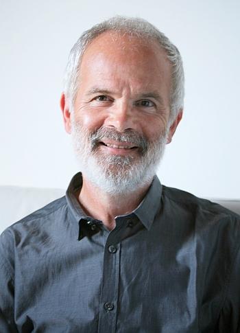 Portrait of François Grosjean.
