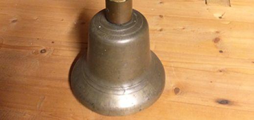 An old school bell.