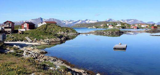 An Arctic landscape.