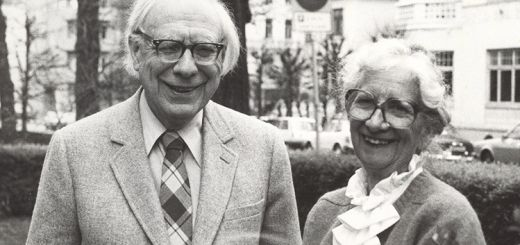 Einar and Eva Haugen.