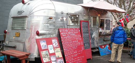 The Viking Soul Food truck.