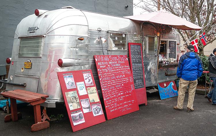 The Viking Soul Food truck.