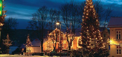 Santa lives at Drøbak's Julehus