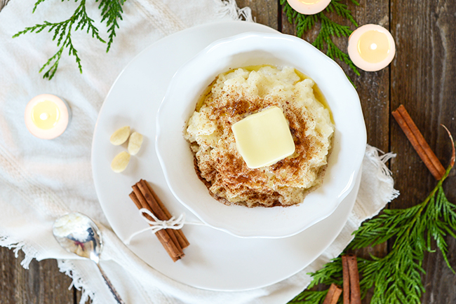 Norwegian Rice Porridge