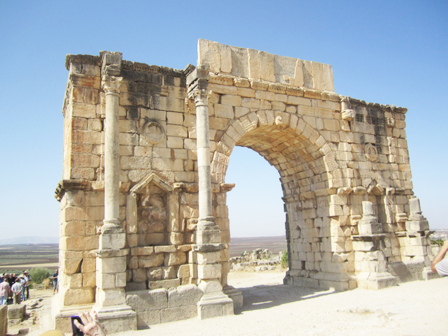 Journey through Morocco: Volubilis