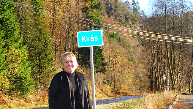 Kvås city limit