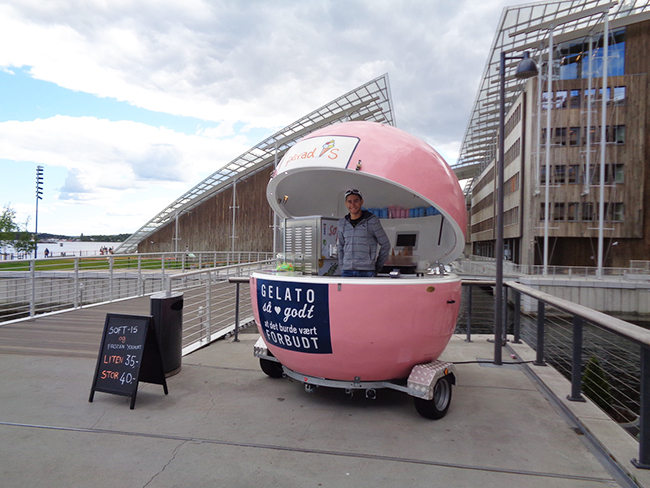 Food tourism: Oslo gelato