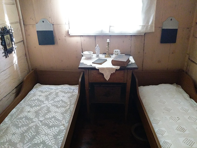 Leprosy Museum patient room
