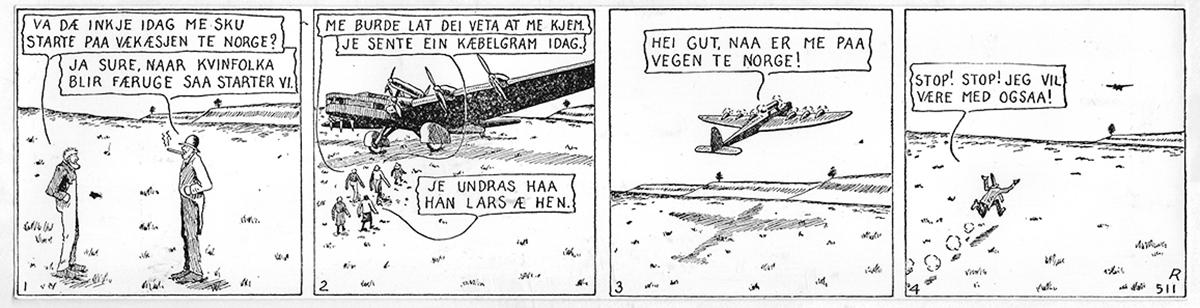 Hans Ola og Hans Per Norwegian Comic