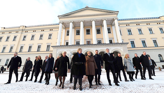 Norwegian cabinet