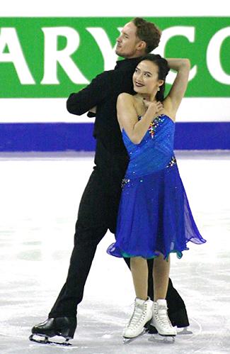 Evan Bates and Madison Chock, Team USA