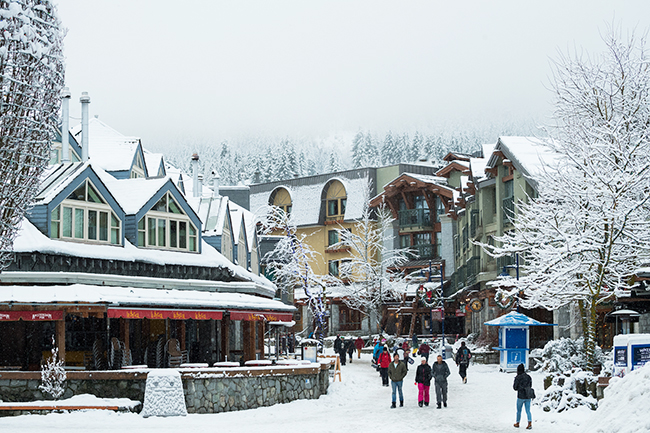 Canadian ski resorts: Whistler
