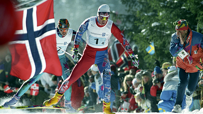 Norwegian Winter Olympic medals: Bjørn Dæhlie
