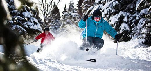 Canadian ski resort: Mont-Sainte-Anne.