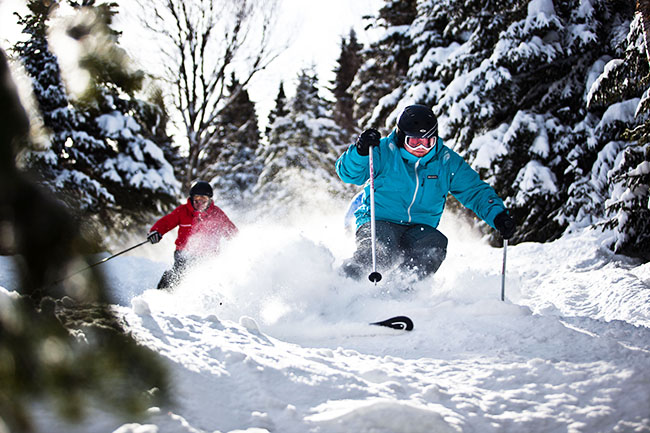 Canadian ski resorts: Mont-Sainte-Anne.