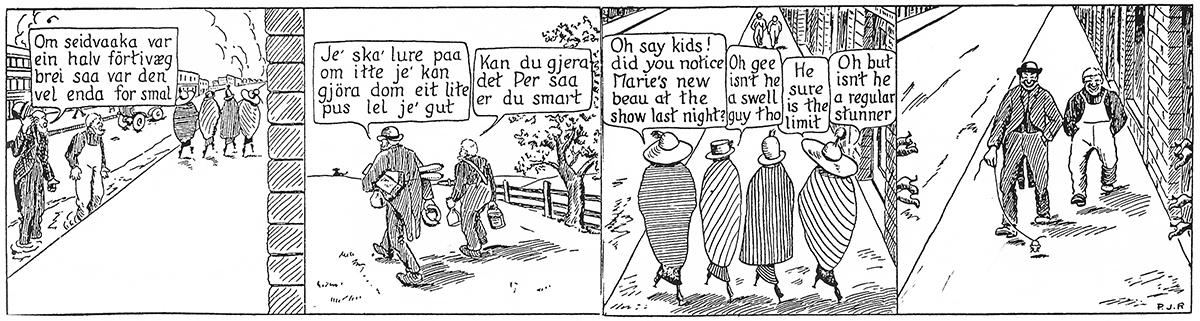 Hans Ola og Han Per Norwegian Comic