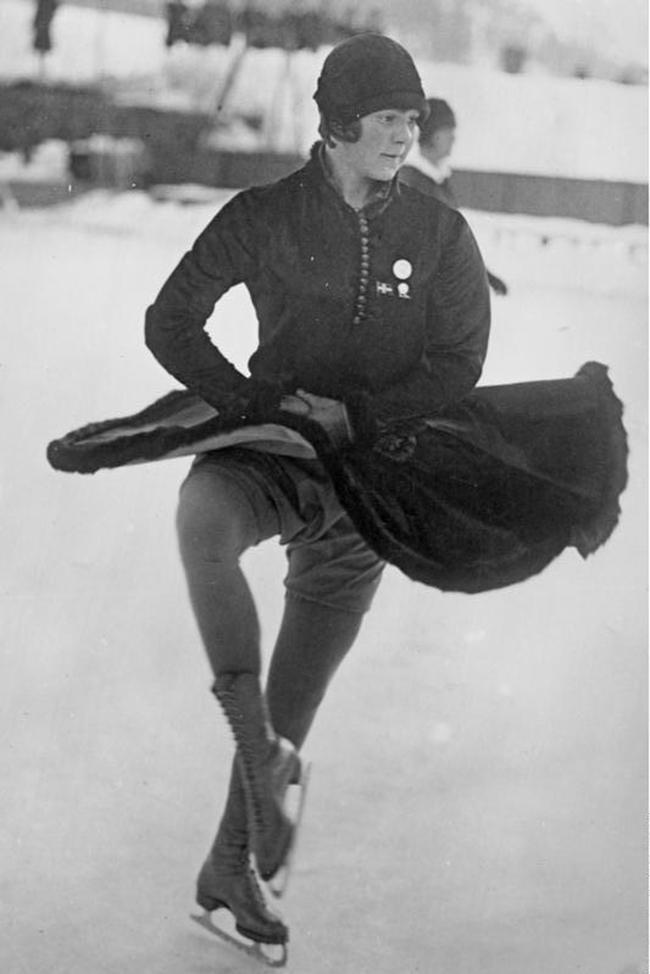 Norwegian Winter Olympic medals: Sonia Henie