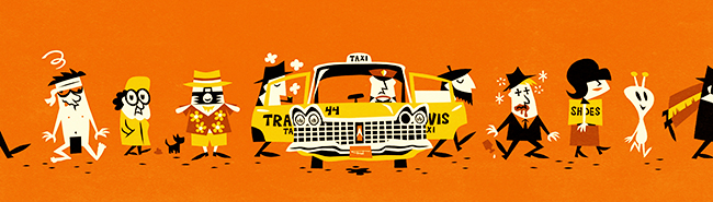 """Fred Lammers """"The yellow cab"""""""
