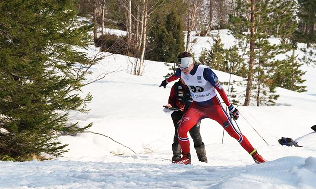 2018 Paralympic Games: Håkon Olsrud