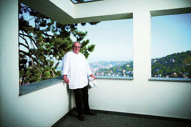 Stuttgart chef Vincent Klink