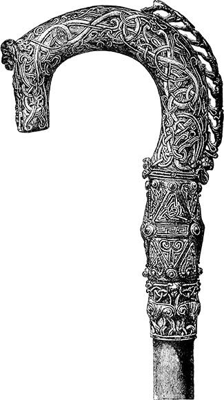 Clonmacnoise crozier