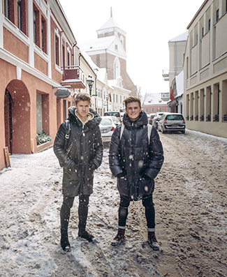 Martin Solhaugen & Kim Sørensen in Kaunas
