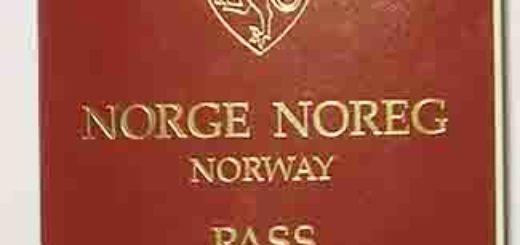 Norwegian passprot