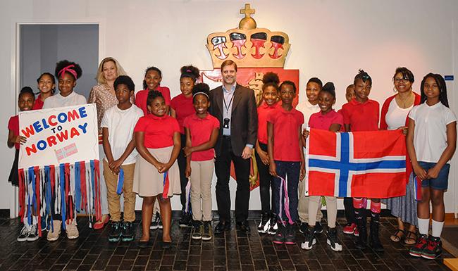 DC Norway Embassy visit