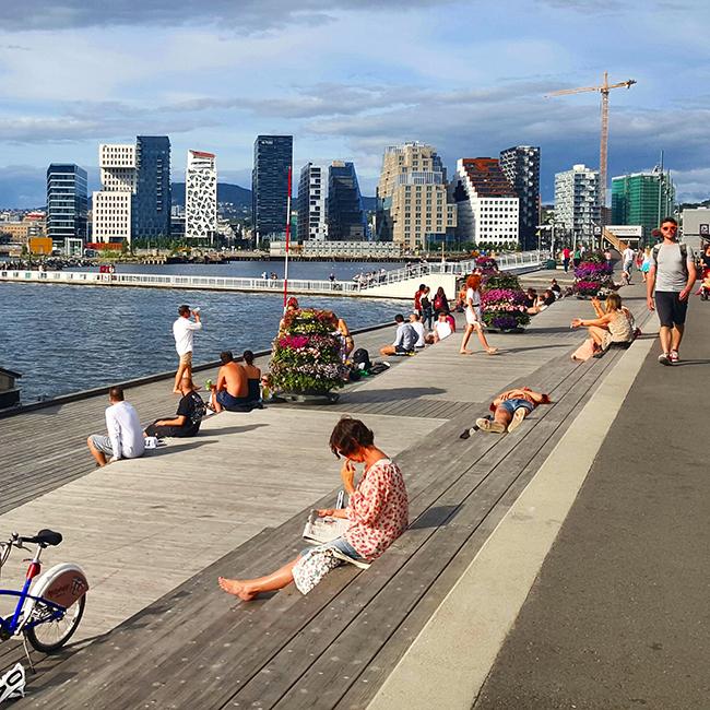 New Oslo sights