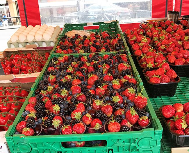 berry season in Norway