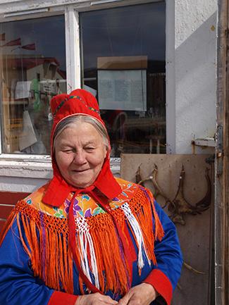 Tove Andersson - Sámi woman