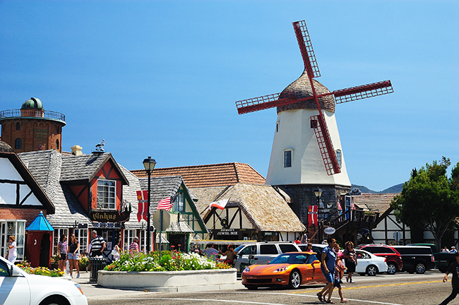 Atterday in Solvang, Calif.