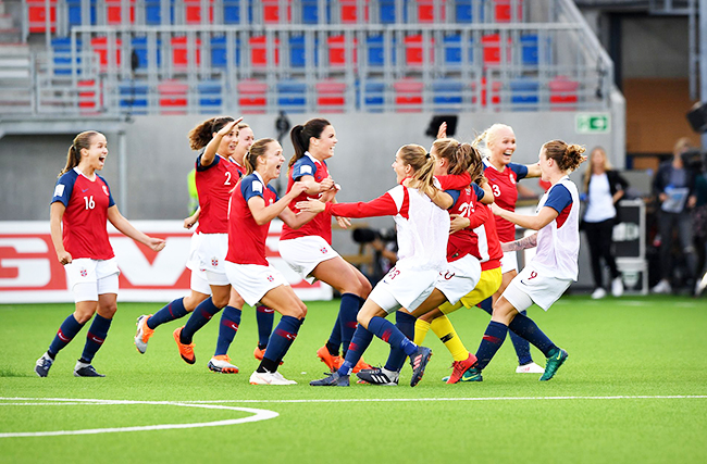 Norwegian women's soccer team