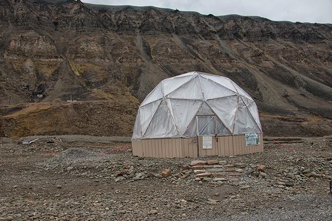 Svalbard greenhouse