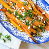 Citrus-roasted carrots