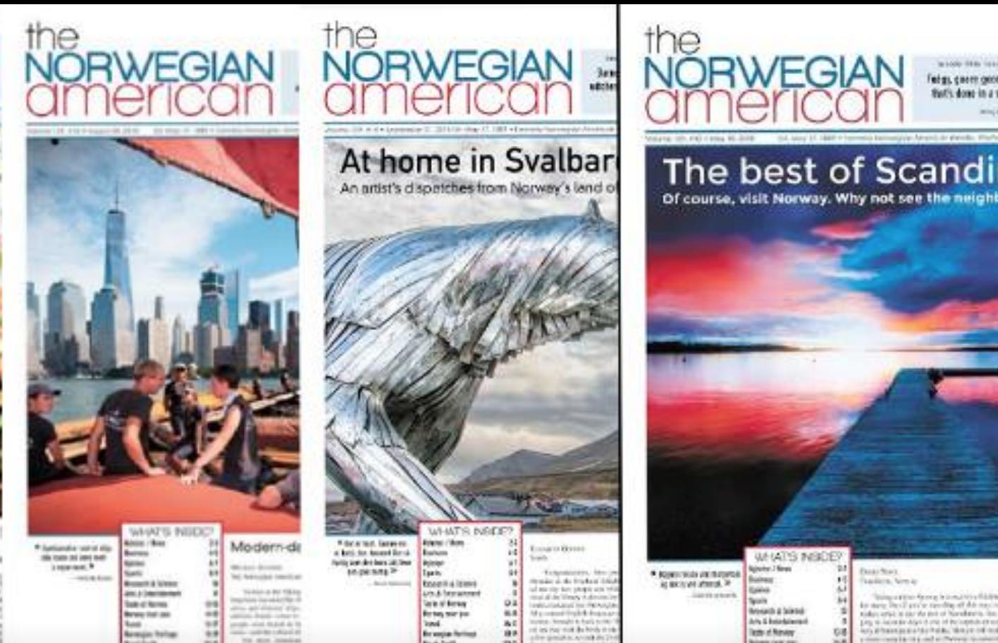 The Norwegian American 2018